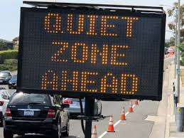 Quiet Zone ahead